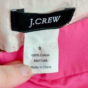 J. Crew Shorts - J Crew Short Shorts Bubble Gum Pink100% Cotton 0